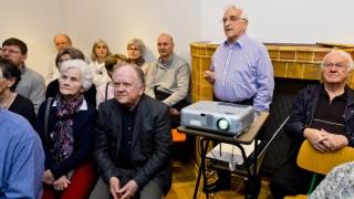 Vortrag über Martk Schwabener Wappen im Heimatmuseum.