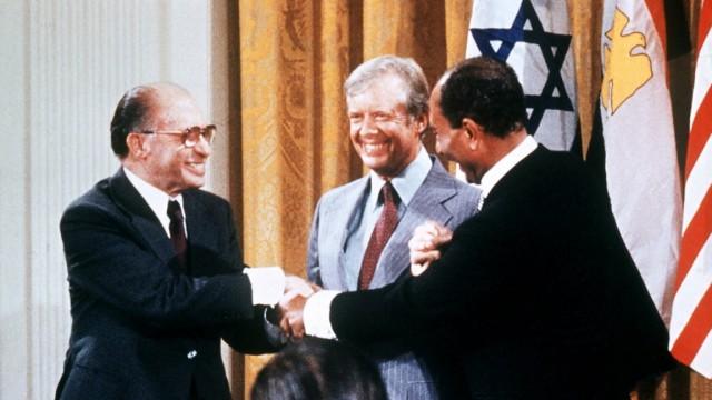 1978 Friedensverhandlungen in Camp David
