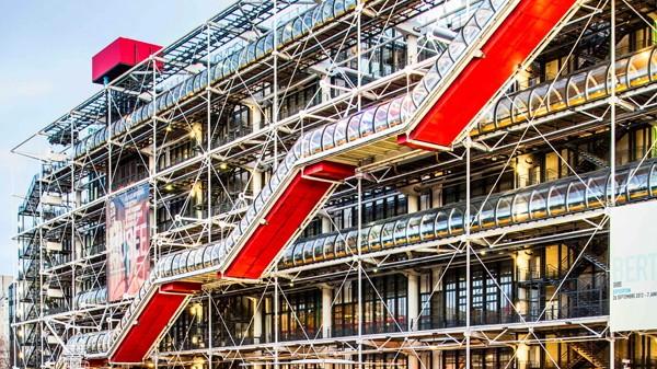 Georges Pompidou Center Centre Georges Pompidou Paris France 01 01 13 Paris França Paris