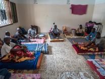 Lager für illegale Flüchtlinge in Misrata