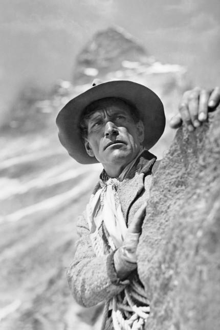 """Luis Trenker in """"Der Berg ruft"""", 1938"""