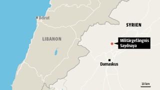Karte Amnesty International Saydnaya Syrien
