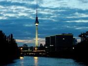 Berlin Fernsehturm Alexanderplatz Alex 40 Jahre, ddp