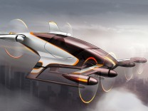 Das fliegende Auto Airbus Vahana