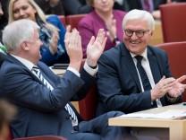 Frank-Walter Steinmeier besucht bayerischen Landtag