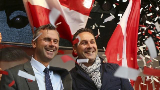 Norbert Hofer, Heinz-Christian Strache