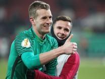 Fußball DFB Pokal Achtelfinale Hannover 96 Eintracht Frankfurt am 08 02 2017 in der HDI Arena in H