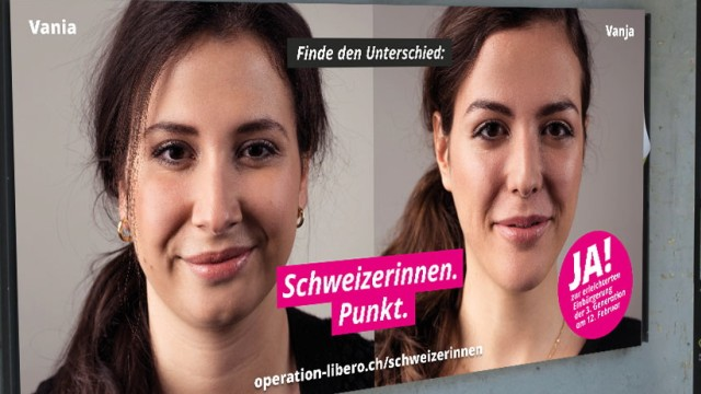 Volksabstimmung in der Schweiz Schweiz