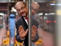 SPD-Kanzlerkandidat Martin Schulz im Norddeutschland