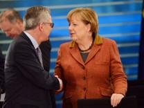 Regierungschefs der Länder und   Bundeskanzlerin Merkel