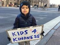 Kinder gegen Trump