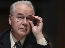 US-Senat bestätigt Tom Price als Gesundheitsminister