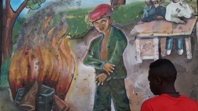 Ein Unicef-Transitzentrum für frühere Kindersoldaten im ostkongolesischen Goma. (Foto: dpa)