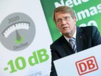 Deutsche Bahn stellt neue Klimaschutzziele vor