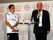 Bayern Muenchen Receives New Cars; Lahm