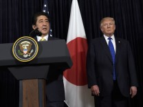 Donald Trump und Shinzo Abe