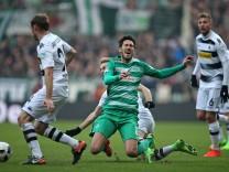 Bremen Germany 11 02 2017 1 Bundesliga 20 Spieltag Werder Bremen Borussia Moenchengladbach v