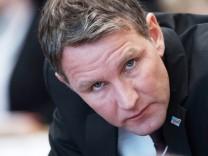Aktion im Thüringer Landtag nach Höcke-Rede