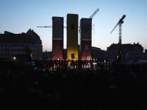 72. Jahrestag der ZerstËÜrung Dresdens