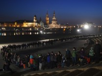 72. Jahrestag der Zerstörung Dresdens