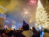 Silvesterfeier am Münchner Marienplatz, 2016/17