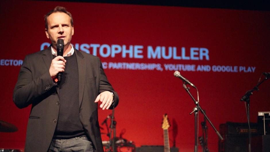 Christophe Muller, Director International Music Partnerships bei YouTube