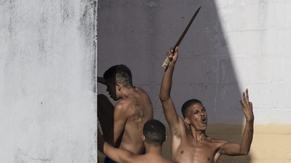 Aufruhr in Gefängnis in Brasilien
