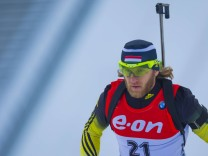 10 03 2016 Holmenkollen Oslo Norway IBU Biathlon World Championships Karoly Gombos of Hungary c; Károly Gombos Biathlon