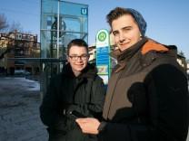 Zwei junge Männer aus Garching, die eine App für Neubürger entwickelt haben.