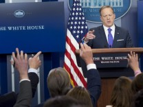 Press Secretary Sean Spicer Holds Daily Press Briefing at WH