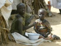 Leben im Flüchtlingslager