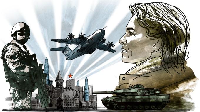 Das transatlantische Verhältnis muss fairer gestaltet werden, findet Ursula von der Leyen. (Foto: Stefan Dimitrov/Süddeutsche Zeitung) (Foto: )