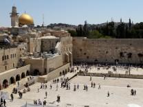 Jerusalem - Felsendom und Klagemauer