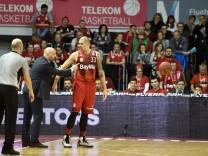 Aleksandar Sasa Djordjevic Cheftrainer FC Bayern Muenchen Basketball Maik Zirbes FC Bayern Mu; Basketball