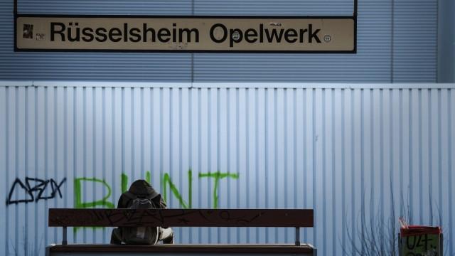 GM-Spitze heute bei Opel in Rüsselsheim
