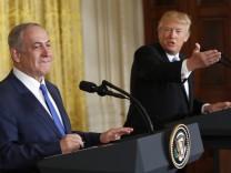 Benjamin Netanjahu besucht USA