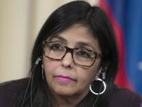 Delcy Rodriguez, Außenministerin von Venezuela