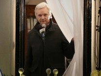 (FILE) WikiLeaks Founder Julian Assange Leaves The Ecuadorian Embassy