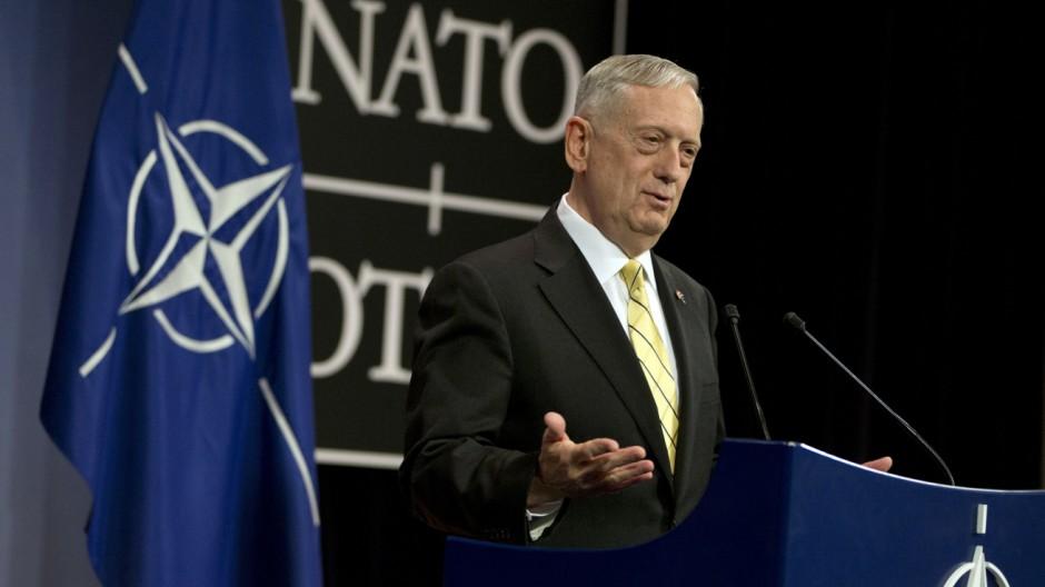 Pressekonferenz der NATO