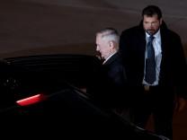 Münchner Sicherheitskonferenz - Ankunft James Mattis