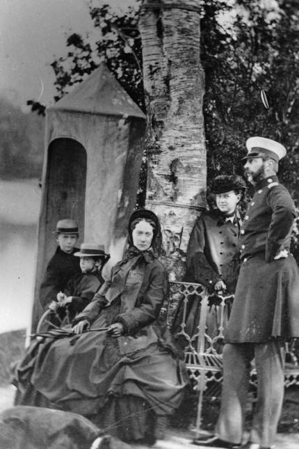 Die Familie des Zaren Alexander II. von Russland