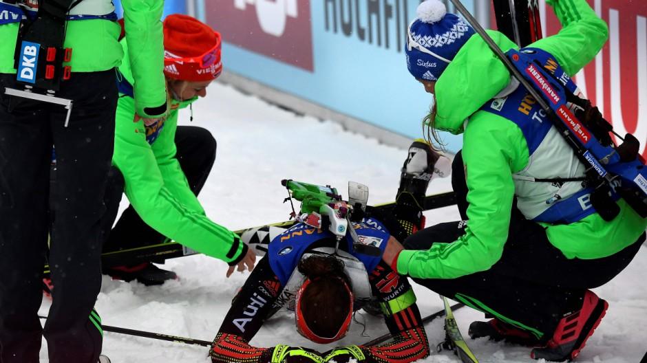 Laura Dahlmeier Biathlon-WM