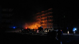Explosion in türkischer Stadt Viransehir A large explosion has hit a building housing judges and pro