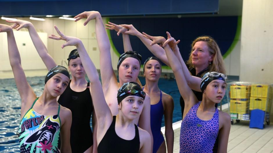 Synchronschwimmen Synchronschwimmen