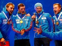 Biathlon - IBU World Championships Hochfilzen -  Men 4 x 7.5 km Relay