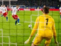 Fussball 1. Bundesliga/  Hamburger SV - SC Freiburg