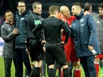 Fussball Herren 1 Bundesliga Saison 2016 2017 21 Spieltag Hertha BSC FC Bayern München Di