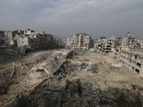 Kriegsspuren in Aleppo