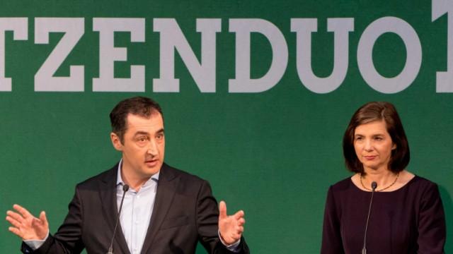 Grünes Spitzenduo für Bundestagswahl 2017