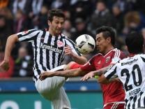 18 02 2017 xjhx Fussball 1 Bundesliga Eintracht Frankfurt FC Ingolstadt 04 emspor v l David